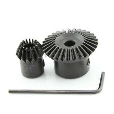 1M30T-15T Metal Umbrella Tooth Bevel Gear 90° Angle Set Kit Ratio 2:1