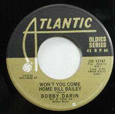 Rock 45 Bobby Darin - Won'T You Come Home Bill Bailey / Things On Atlantic