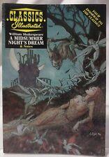 CLASSICS ILLUSTRATED A MIDSUMMER NIGHT'S DREAM (1997, PAPERBACK)