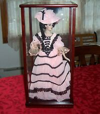 FRANKLIN MINT VICTORIA COCA COLA LIMITED EDITION DOLL 1906  WITH DISPLAY CASE