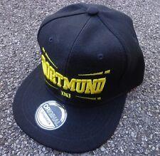 DORTMUND SNAPBACK CAP Kappe Basecap B + DORTMUND + NEU + 100% Polyester + OSFA
