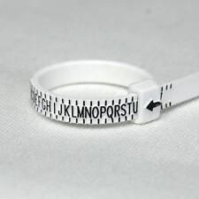 BEAUTIFUL RING SIZER GAUGE, MEASURES FINGER SIZE A TO Z