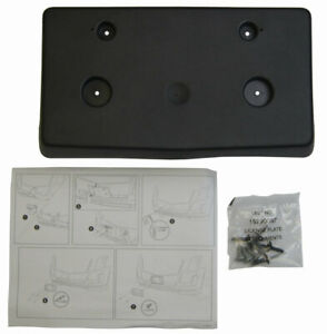 2015-2017 Cadillac Escalade Front License Plate Mount Kit New OEM 22996659