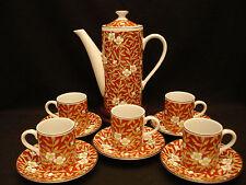 VINTAGE JAPANESE IMARI COFFEE / TEA POT & CUP & SAUCER SET
