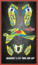 Suzuki LTZ 400 09 and newer ATV sticker kit Semi Custom Service FAAST1
