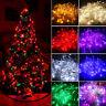 10M/20M 100/200LED Powered Fairy Lamp Bulbs String Lights Multi Color Waterproof