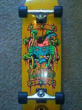 John Lucero Black Label Jester X-2 Yellow Independent/Thrasher Trucks Rat Bones