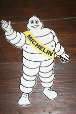 Waving MICHELIN Man Shaped Plaque Cast Iron 35cm Wall Garage Ymish