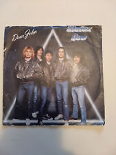 "Status Quo 7"" record- Dear JohnI Want The World To Know- IMPORT (Italy)"