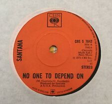 Santana Carlos 4 CBS Singles From 1970's Revelations Dance Sister Samba Pa Ti
