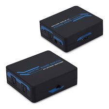 SLL Toslink Audio SPDIF switch di distribuzione telecomando 2x1