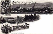65895 Litho Gruss aus Grulich