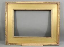 Antique Early 20thC American Arts & Crafts, Carved & Gilded, Painting Frame