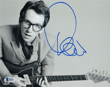 ELVIS COSTELLO SIGNED AUTOGRAPHED 8x10 PHOTO LEGENDARY MUSICIAN RARE BECKETT BAS