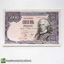 SPAIN: 1 x 5,000 Spanish Peseta Banknote.