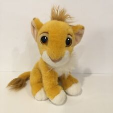 "1993  Authentic Mattel Disney Lion King Simba 10"" Plush"
