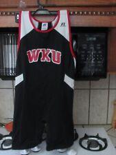 Western Kentucky University track and field 1pc singlet unitard men's medium new