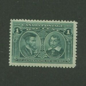 1908 Canada Postage Stamp #97 Mint Lightly Hinged F/VF