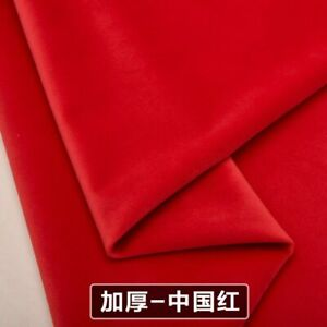 """Wide 57"""" Upholstery Velvet Sofa Fabric For Cushion Pillow Curtain Material"""