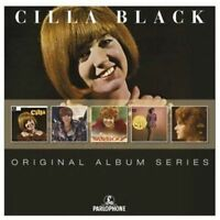 CILLA BLACK 5CD NEW Cilla/Sings A Rainbow/Sher-oo!/Surround/Sweet Inspiration
