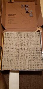 Flor Its Snow Problem Color:Bone 12 Tiles per Box 5x7