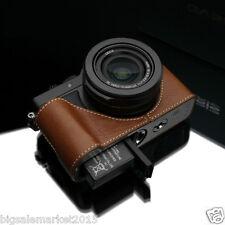 Gariz Panasonic LX100 Half Case + Gun-Shot Strap Set Camel For Lumix DMC-LX100