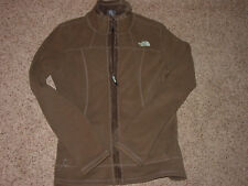 2013 Womens North Face A53T Morningside Brown Full Zip Fleece Jacket! Size S