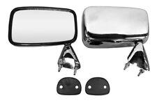 For Ford Fiesta Mk1 77-83 Door Mirror Chrome Finish L/H