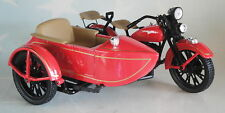 HARLEY DAVIDSON 1933 MOTORCYCLE SIDE CAR LIBERTY CLASSICS DIECAST RED SPECCAST