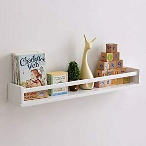 Floating Shelves, Wall Mounted Wood Bookshelf ,27.5 Inch