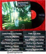 LP Arno Flor: Verdi Wonderland (Quadrophonie)