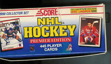 1990-91 SCORE HOCKEY OPENED FACTORY SET 1-445
