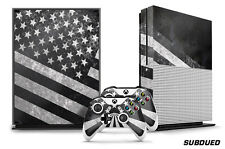 Designer Skin for XBOX ONE S 1S Gaming Console+2 Controller Sticker Decal SUBDUE