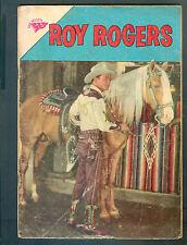 ROY ROGERS N° 131 SPANISH MEXICAN COMIC NOVARO