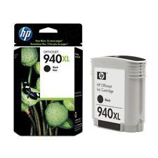 HP 940XL Original Black Ink Cartridge C4906AN, High Yield 2,200