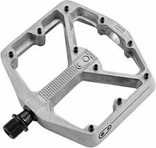Crankbrothers Stamp 2 Large Lightweight Race/Enduro Bike Pedals (Raw/Silver)