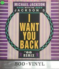 "Michael Jackson & The Jackson 5 88 Remix -i Want You Back Nr Mint Con Rare 12"""