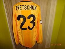 Hertha bsc berlín nike manga larga Camiseta matchworn 2000/01 + nº 23 tretschok talla XL