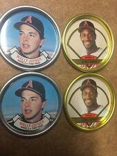 Topps Coins Coin Team Set 1987 1990 Los Angeles Angels Davis Joyner