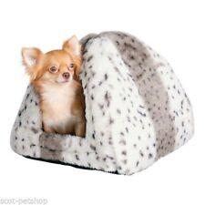 Couchage, paniers et couvertures en peluche pour chat
