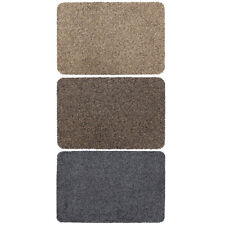 JVL Tanami Machine Washable Two Tone Barrier Door Mat