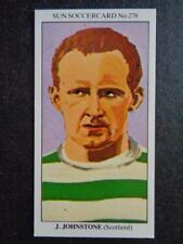 The Sun Soccercards 1978-79 - Jimmy Johnstone - Scotland #278