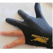Black Spandex Snooker Billiard Cue Glove Pool Left Hand Three Finger Accessory @