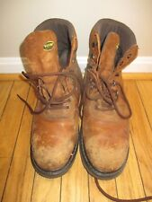 WOLVERINE MEN'S BOOT LEATHER STEEL TOE BOOT MENS SIZE 12