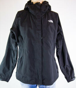 The North Face Resolve HyVent Women's Size XL Black Shell Jacket