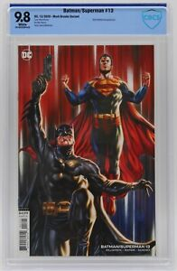 Batman/Superman (2019) #13 Mark Brooks Variant B CBCS 9.8 Blue Label White Pages