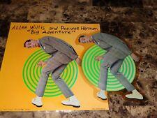 Pee Wee Herman Rare Big Adventure Movie Playhouse Show Vinyl Picture Disc Record