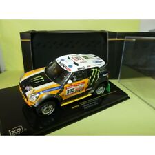 MINI COUNTRYMAN ALL 4 RACING N°305 RALLYE PARIS DAKAR 2012 IXO RAM573P 1:43 2ème