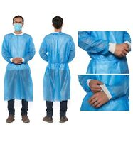 10 Pieces Devote Isolation Gowns; Full body Suit with Hood; New; In Stock;