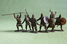 Vikings set#2 Plastic Collection Toy Soldiers 1/32 54mm exclusive rare